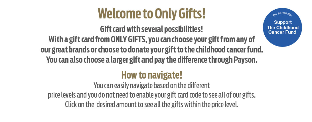 About Only Gifts