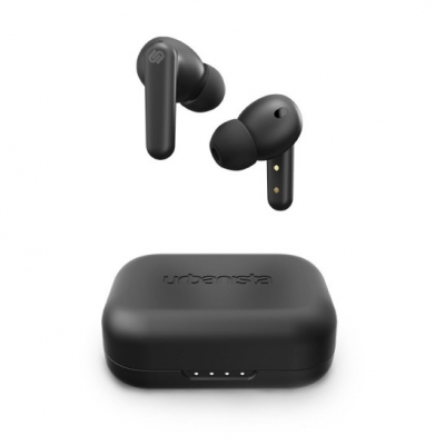 LONDON Earphones Trådlösa bluetooth In-ear hörlurar - Midnight Black