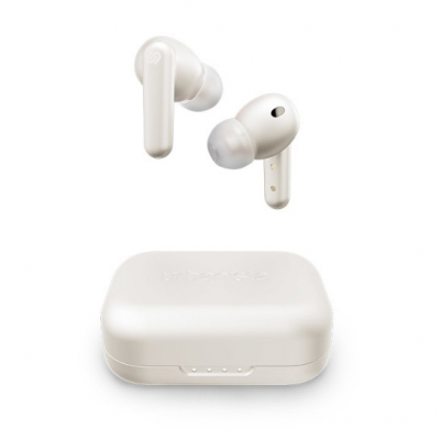 LONDON Trådlösa bluetooth In-ear hörlurar - White Pearl