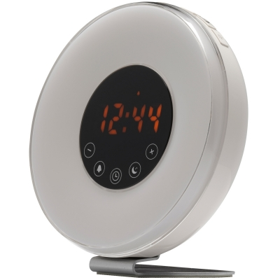 Denver Klockradio med Wake-Up-Light, svart