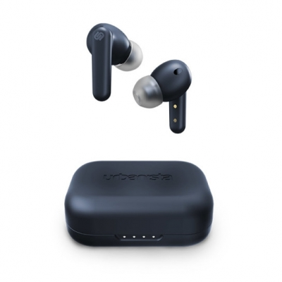 LONDON Earphones Trådlösa bluetooth In-ear hörlurar Dark Sapphire